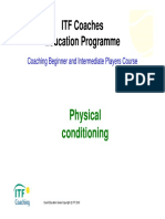 ITF Physical conditioning Kid