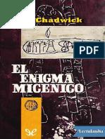Chadwick - El enigma micenico