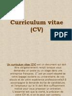 - Curriculum Vitae (CV)