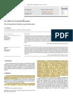 Les effets de la psychoéducation. The therapeutical benefits of psychoeducation - Petitjean (2011)