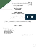 Determinación Del Factor de Fricción en Tuberías Lisas y Rugosas