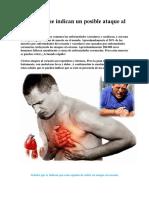 Síntomas Que Indican Un Posible Ataque Al Corazón55