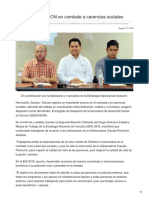17-08-2018 -Avanza SEDESSON en Combate a Carencias Sociales - Opinionsonora