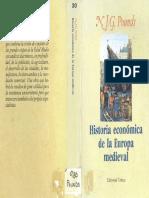 POUNDS, N - Historia Economica de la Europa Medieval (1974