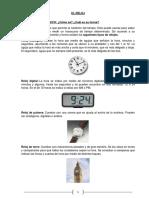 Clase Especial El Reloj