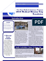 VNMAP Medical Mission 2010 Newsletter