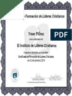 1 Certificado de Formacion de Lideres Cristianos Florez Yimer.pdf