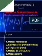 Curs 10 Aparatul Cardiovascular II