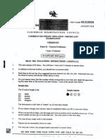 CSEC Chemistry January 2018 P1.pdf