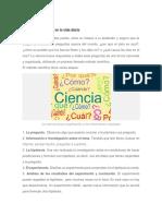 El Método Científico en La Vida Diaria-Pasos