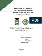 Análisis Financiero - Entel CL