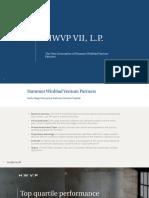 HWVP Fund VII LP Memo