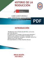 MINISTERIO DE PRODUCCIÓN DE PERÚ