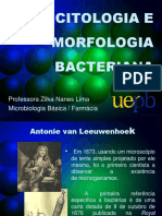 [Aula 4 Microbiologia Básica - Profª. Zilka] Citologia e Morfologia Bacteriana