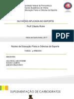SEMINÁRIO SUPLEMENTOS