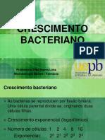 [Aula 6 Microbiologia Básica - Profª. Zilka] Crescimento Bacteriano