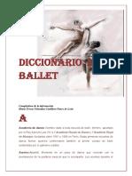 Diccionario de Ballet  (fragmento)