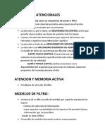 Modelos de filtro Atencion