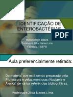 [Aula 13 Microbiologia Básica - Profª. Zilka] Identificação de enterobactérias