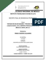 PRODUCTOS ELABORADOS A BASE DE NOPAL
