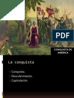 6. Conquista de América