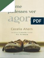 Cecelia Ahern- Se me pudesses ver agora.pdf