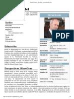 Michael Sandel - W