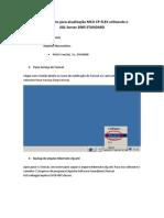 Procedimento para atualização MCU CP-FLEX