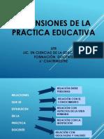 Dimensiones de La Práctica Educativa