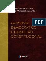 Governo Democrático e Jurisdição Constitucional - Clémerson Merlin Cléve - 2016