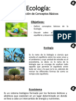 Ecologia - Definición de Conceptos Básicos