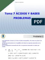 Tema 7 Problemas Acido-base