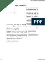 Glosario de 75 Guías en Eficiencia Energética
