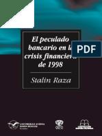 Tesis-libro 2004 El Peculado Bancario en La Crisis Financiera de 1998