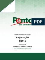 Aula 0 Legislacao Trt 01