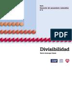 Divisibilidad Libro de Andonegui Fe y Alegría