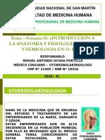 01. Clase Magistral 2018-II Dr. Miguel Ochoa Portilla