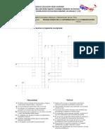 Actividad 3 - Parcial 1 - Crucigrama