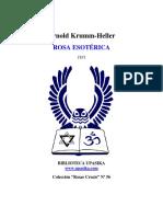 Krumm Heller - Rosa esoterica.pdf