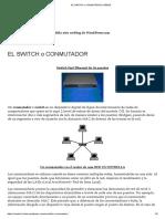 El Switch o Conmutador _ Redes