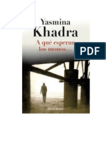 Khadra Yasmina - A Que Esperan Los Monos.doc