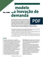 O modelo da inovação de demanda (Dick Wise)