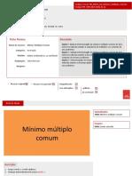 4 Guiao Minimo Multiplo Comum Rafael