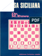 Euwe Max - Defensa Siciliana, 1976-OCR, 256p