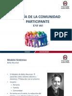 1. Modelo de Comunidad Participante