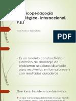La Psicopedagogía Estratégico- Interaccional