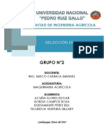 Seleccion Maquina Agricola