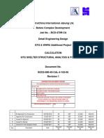 Calculation of GTG Shelter Rev 1