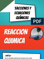 Ecuación y Reacción Química