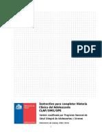 Instructivo Para Completar Ficha Salud Integral 30.12.16